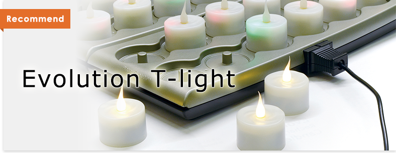 Recommend[Evolution T-light Candle]